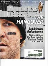 Ben Roethlisberger Pittsburgh Steelers Sports Illustrated May 10, 2010