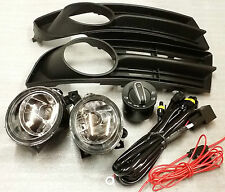 VW TOURAN 2003 - 2006 FOG LIGHTS AND GRILLS WITH WIRING & SWITCH FULL SET