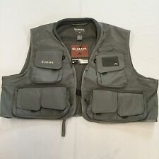 2012 SIMMS FREESTONE VEST IN GUNMETAL 2XL - RETAIL $79.95