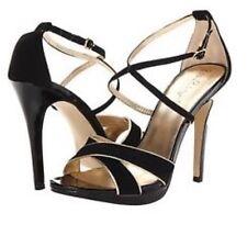 New w/o Box Lilly Pulitzer Bella Strappy Sandal Black Heels sz 7 $198