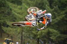 "MOTOCROSS DIRT BIKE JUMP SPORT PHOTO ART PRINT POSTER 36""x24"" 094"