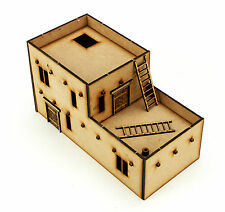 Wargames terrain WW2 28mm north african house kit bolt action