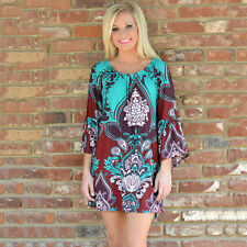 Women Swimwear Bikini Beach Wear Cover Up Kaftan Ladies Summer Casual Mini Dress