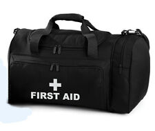 FIRST AID Black Holdall/Work Bag Paramedic Ambulance Medic St John 2 Free Pens