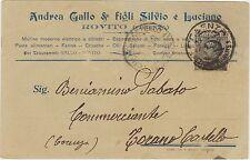 ROVITO - MULINO FICHI PASTE FARINE ECC.. - ANDREA GALLO E FIGLI (COSENZA) 1929