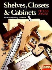 Shelves, Closets & Cabinets, Jones, Peter, Very Good Condition Paperback Book