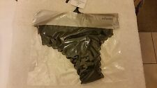 Ann Summers  Boost Briefs Black Lace With Bow Size 18 NWT In Packet With Hanger