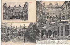 Lot 4 cartes postales anciennes BELGIQUE ANVERS ANTWERPEN musée