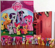 NEW MY LITTLE PONY MY BUSY BOOKS WITH 12 CHARACTER FIGURES AND PLAYMAT BNIB