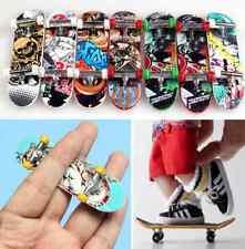 1X Finger Board Tech Deck Mini Truck Skateboard Boy Children Finderboard Toy F