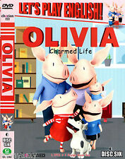 Nickelodeon Childrens T.V - Olivia (Pig) Charmed Life  4 Episodes per DVD