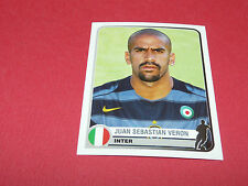 157 JUAN SEBASTIAN VERON INTER UEFA PANINI FOOTBALL CHAMPIONS LEAGUE 2005 2006
