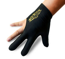 Champion Sport Black Right Hand Billiards Gloves For Pool Cues