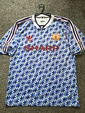 "MANCHESTER UNITED VINTAGE ORIGINAL 1990/92 AWAY SHIRT ADULTS(M) 38""-40"""