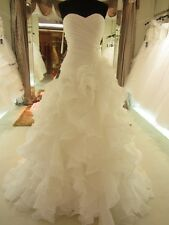 White/ivory Mermaid Wedding dresses Bridal Gowns Custom Made 2 4 6 8 10 12 14+++