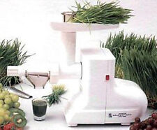Miracle MJ550 Wheatgrass Juicer ~220 Volt ~New - MJ-550, Pulp Ejection, White