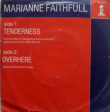 "7"" 1980 RARE NL-PRESS ! MARIANNE FAITHFULL : Tenderness"