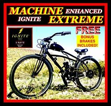 "NEW DIY 2-STROKE 66CC/80CC MOTORIZED BICYCLE KIT WITH 27.5"" POWER CRUISER BIKE!"
