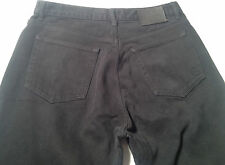 EUC - As New - RRP $299 - Mens CLASSIC CK CALVIN KLEIN Black Straight Leg Jeans