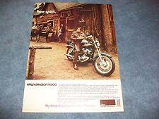 "1974 Harley-Davidson FX-1200 Vintage Ad ""Free Spirit"""
