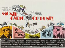 """Monte Carlo or Bust 16"""" x 12"""" Reproduction Movie Poster Photograph"""
