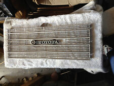 VINTAGE TOYOTA GRILLE GRILLE 1960'S NOT SURE OF YEAR OR MODEL WILL SHIP READ AD