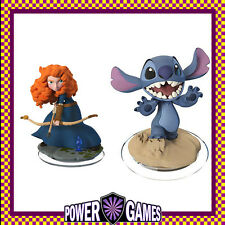 Disney Infinity 2.0 Merida & Stitch for PS4/PS3/ Wii U/Xbox 360/Xbox One BN