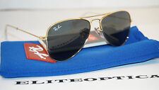 New Authentic RAY BAN JR Aviator Gold/Green RB9506S 223/71 50 120