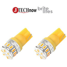 Jtech 2x T10 Super Bright Yellow High Power 3014 18-SMD LED 194 168 2825 W5W