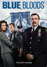 Blue Bloods: The Sixth Season - 6 DISC SET (2016, REGION 1 DVD New)