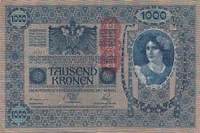 Billet banque AUTRICHE AUSTRIA 1000 KRONEN 1902 état voir scan 711