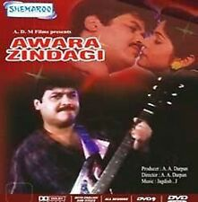 AWARA ZINDAGI  - Raj Kiran, Mazhar Khan - NEW BOLLYWOOD DVD - FREE UK POST