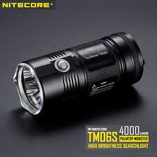 Nitecore TM06S -4000 Lumen Palmtop Monster LED Flashlight Compact Torch XM-L2 U3