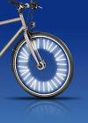 Speichenreflektoren, 72 Stück für 1 Fahrrad , mit 3M™-Scotchlite™-Reflexmaterial