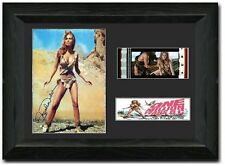 One Million Years B.C. 35 mm Film Cell Stunning display Cast Signed Raquel Welch