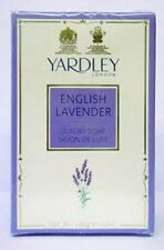 Best Offer Yardley London English Lavender Luxury Soap Relieves Stress-3 soaps