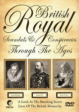 British Royal Scandals And Conspiracies Through The Ages - DVD- BRAND NEW SEALED