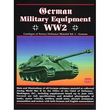 German Military Equipment WW2 book paper