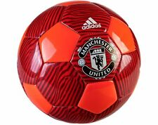 adidas Capitano 2015 Soccer BALL Manchester United Edition New Red Size 5