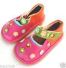 Girl's Squeaky Shoes Tri-Color Mary Janes #1022 Size 4 5 6 7 8 9