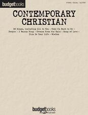 Contemporary Christian Sheet Music Budget Books Piano Vocal Guitar Son 000311732