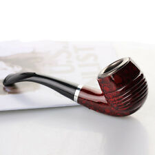 New Durable Wooden Enchase Smoking Pipe Tobacco Cigarettes Cigar Pipes Gift