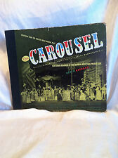 CAROUSEL: ORIGINAL BROADWAY CAST 5 LP SET RODGERS & HAMMERSTEIN DECCA NO. DA400