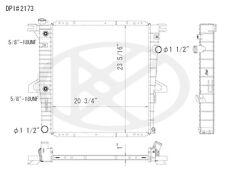 NEW Radiator Koyorad A2173 2173 Mazda Ford