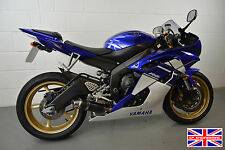 Yamaha R6 (06-16) SP Engineering Carbon Fibre Stubby Big Bore Low Slung Exhaust