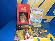 Libro Lote de 4 libros pensadores-F. NIETZSCHE-DESMOND MORRIS-S. AUN WEOR