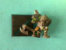 *Warhammer - Orcs & Goblins - Orc Warrior Classic - Metal WF174