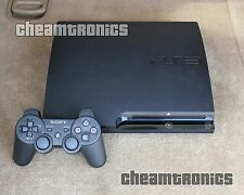 Sony PlayStation 3 Slim 160GB - System Firmware PS3 3.55 OFW Excellent Condition