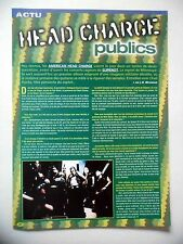 COUPURE DE PRESSE-CLIPPING : AMERICAN HEAD CHARGE  03/2002 Chad Hanks