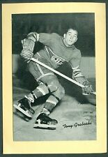 Tony Graboski 1934-43 Group 1 Beehive '34 Bee Hive Photo EXMT Montreal Canadiens